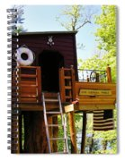 Tree House Boat 2 Spiral Notebook