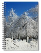 Tree Ice Spiral Notebook
