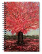 Tree In Fall Spiral Notebook