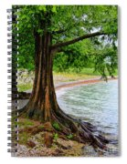 Tree In Paradise Spiral Notebook