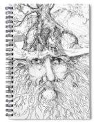 Tree Man Spiral Notebook