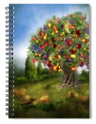 Tree Of Abundance Spiral Notebook
