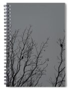 Tree Of Birds Spiral Notebook