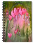 Tree Of Bleeding Hearts Spiral Notebook