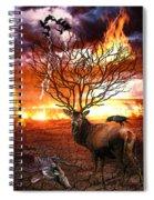 Tree Of Death Spiral Notebook