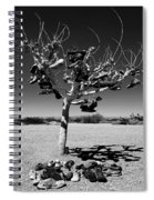 Tree Of Lost Soles 2 Spiral Notebook