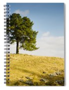 Tree On A Hill Spiral Notebook