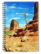 Tree On Park Avenue Spiral Notebook