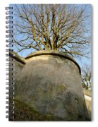 Tree On The Wall Spiral Notebook