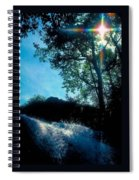 Tree Planted By Streams Of Water Spiral Notebook