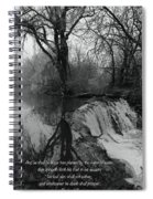 Tree Planted By The Rivers Spiral Notebook