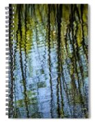 Tree Reflections On A Pond In West Michigan Spiral Notebook