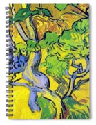 Tree Roots And Tree Trunks Spiral Notebook