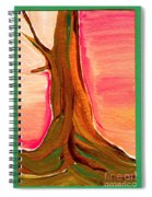 Tree Trunk Spiral Notebook