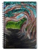 Tree Tunnel Spiral Notebook