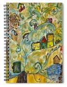 Tree Village Spiral Notebook