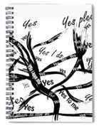 Tree Yes Tree Spiral Notebook
