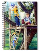 Treehouse Magic Spiral Notebook