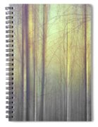 Trees Abstraction Spiral Notebook