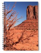 Trees And Mittens Spiral Notebook