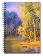 Trees And Water Spiral Notebook