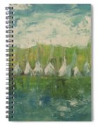 Trees By The River Spiral Notebook
