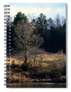 Trees By The Wayside Spiral Notebook