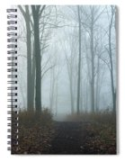 Trees During Autumn In Forest, Dupage Spiral Notebook