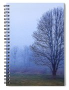 Trees In Fog #2 Spiral Notebook