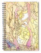 Trees In The Morning Spiral Notebook
