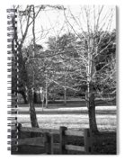 Trees In The Park Spiral Notebook