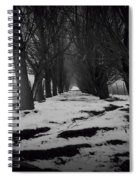 Trees Of The Ida Valley  Spiral Notebook