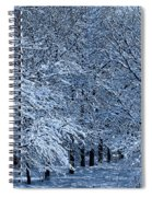 Trees Of Winter Spiral Notebook