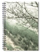 Trees On A Mountain Spiral Notebook