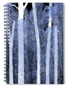 Trees Square Spiral Notebook