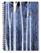 Trees Vertical Spiral Notebook