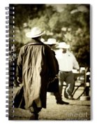 Trenchcoat Cowboy Spiral Notebook