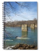 Trestle Of The Past Spiral Notebook