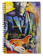 Trey Anastasio And Antelope Lryics Spiral Notebook