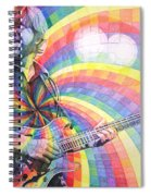 Trey Anastasio Rainbow Spiral Notebook