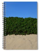 Tri-color At The Beach Spiral Notebook