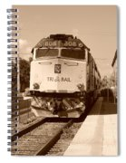 Tri Rail 808 Spiral Notebook