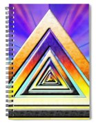Triangle Pathway Spiral Notebook