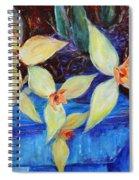 Triangular Blossom Spiral Notebook