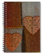 Tribal Hearts Spiral Notebook