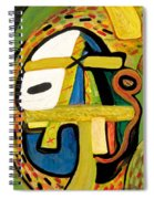 Tribal Mood Spiral Notebook