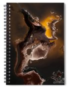Tribal The Fire Within Spiral Notebook