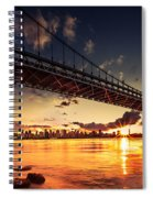 Triboro Sunset Spiral Notebook