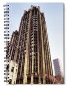 Tribune Tower Facade Spiral Notebook