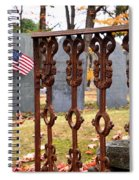 Tribute To A Soldier Spiral Notebook